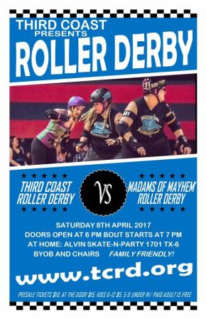 TCRD vs. Madams of Mayhem