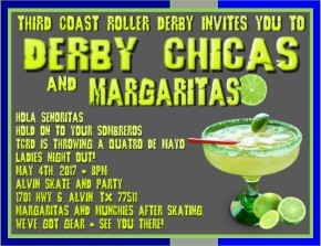 DERBY CHICA's & MARGARITAS!