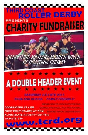 CHARITY BOUT TOMORROW July 8th,2017!